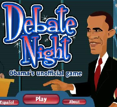 debate night - obama's unofficial game