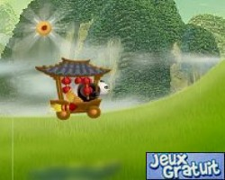kung fu panda world : fireworks cart racing