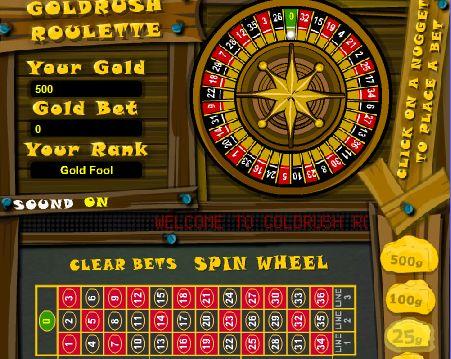 Gold rush com. roulette casino bear bay mills casino history