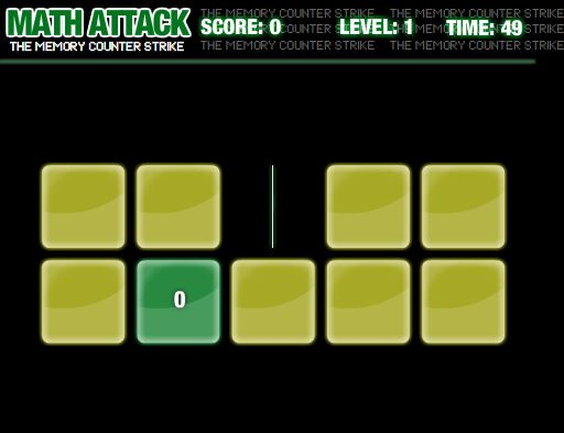 Math Attack II - The Memory Counter Strike