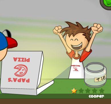 Jeux de papa pizza - Jeux de cuisine papa louis ...