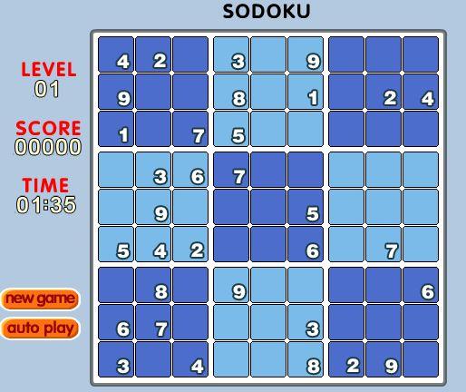 sudoku en ligne gratuit