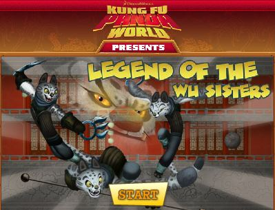 kung fu panda world : legend of the wu sisters