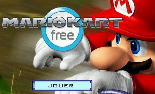 free mario kart gratuit. Black Bedroom Furniture Sets. Home Design Ideas
